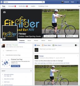 fitrider facebook
